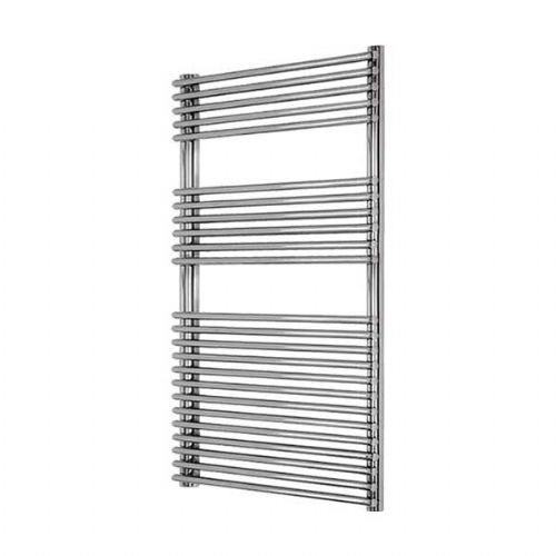 Abacus Elegance Strato Tube On Tube Towel Rail - 1250mm x 600mm - Chrome